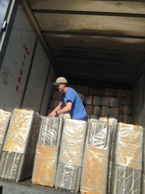 Each bundle contains about 200 cartons