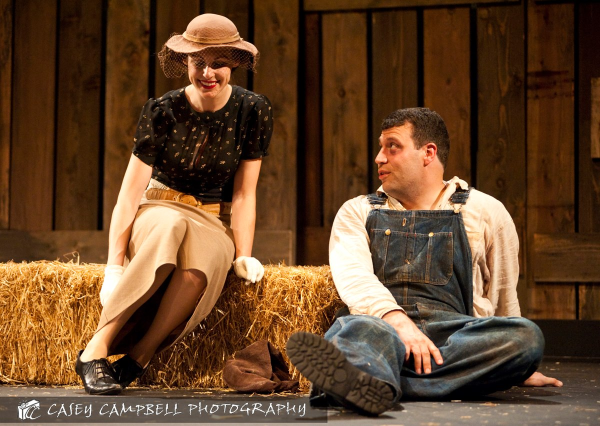 "Curley's Wife in ""Of Mice and Men"""