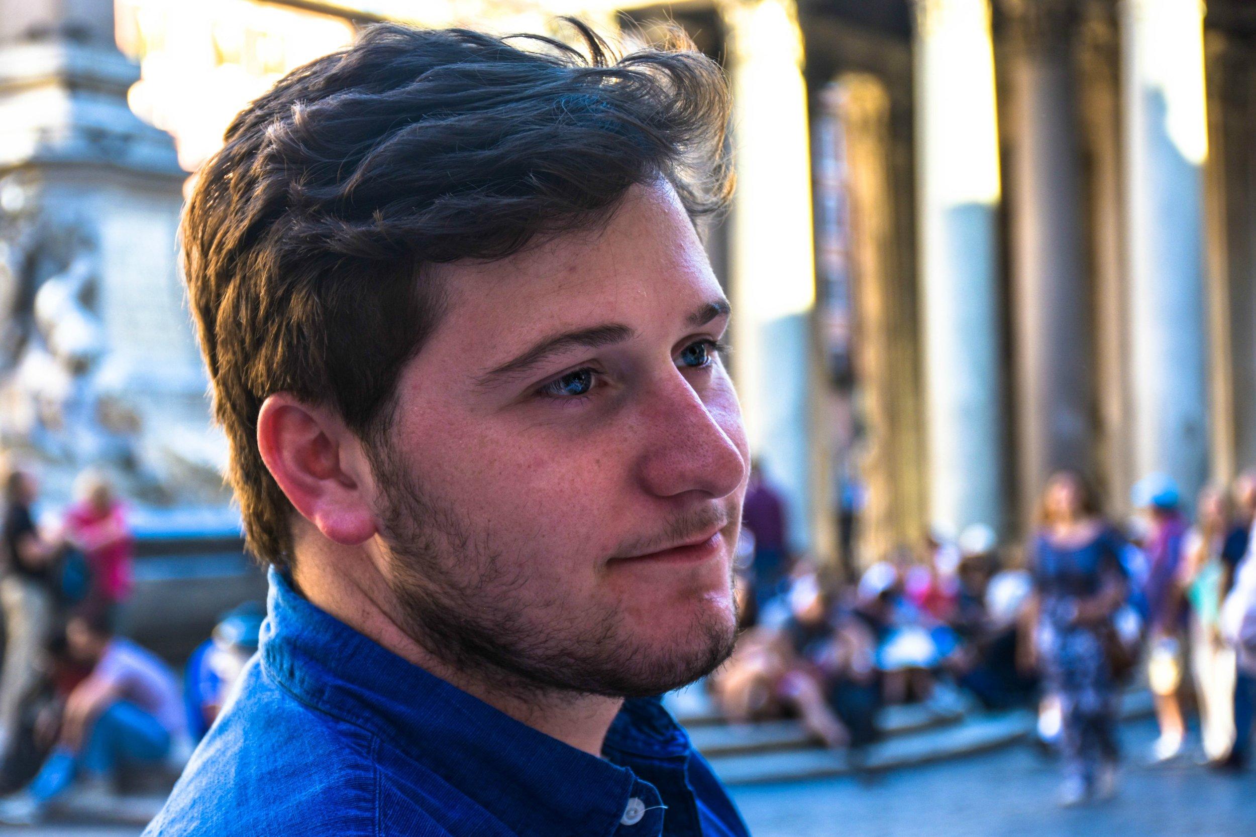 Ethan Shipp,  Acoustic Guitarist + Vocalist