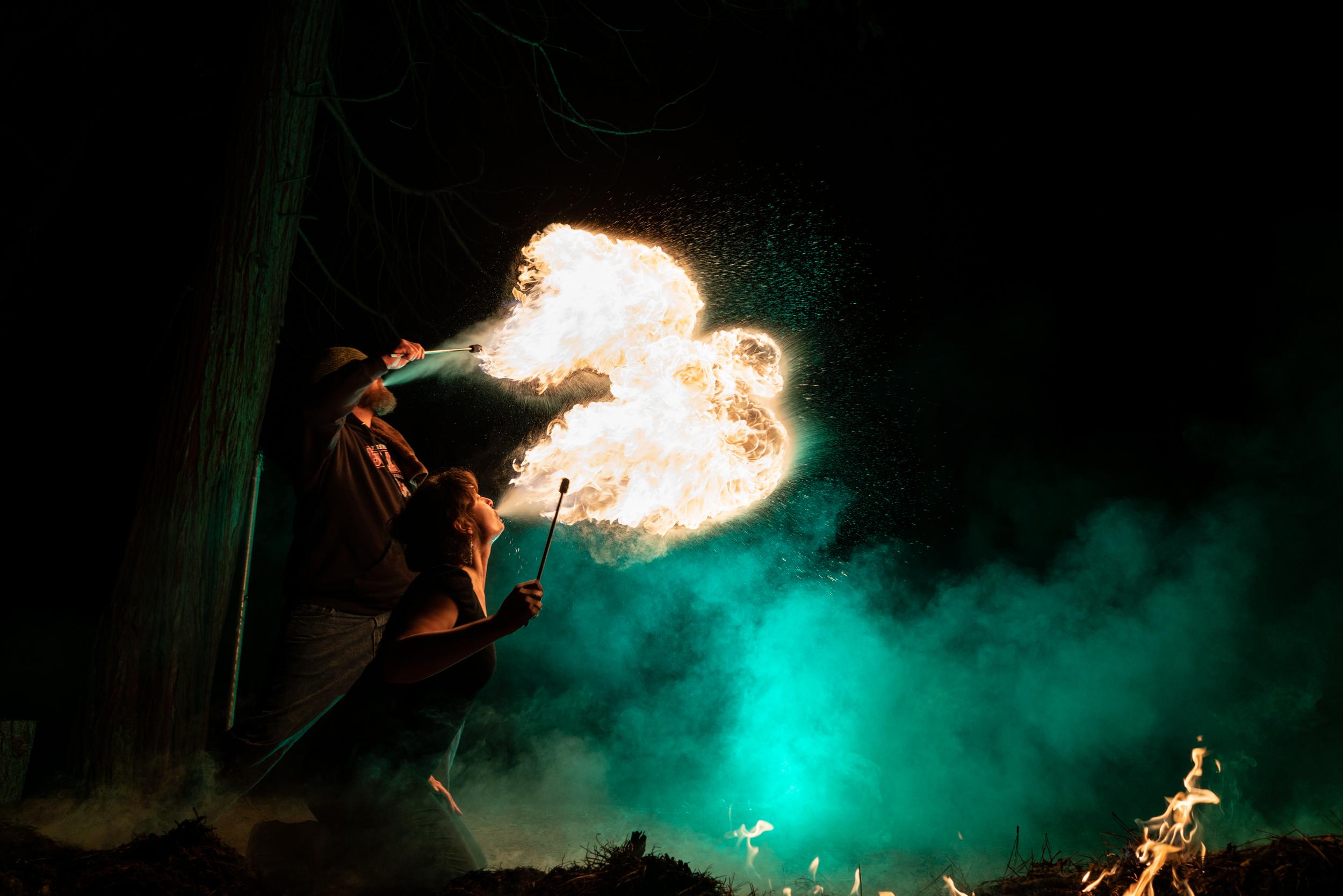 Mana Fire Dragon Breath