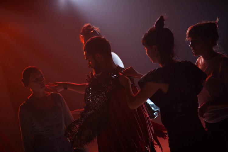 Jillian St. Germain, Franco Nieto, Carrie Strahle (MUAH), Fuchsia Lin, Jamie Hammon (stylist, wardrobe technician)