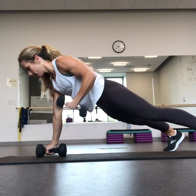 "As a trainer/instructor I constantly get requests for ""core work."" Abdominal crunches can be effective to a certain degree, but they will not be the key to getting a stronger core, or more esthetically appealing core. ••• So what should you do? If you're looking for a flatter, slimmer, tighter mid-section, nutrition and hydration is #1. Workouts are necessary, but secondary. ••• What kind of workouts should you do? Crunches are fine in doses, but if that's what you're doing for the majority of your workout time, you will most likely not see the best results. Do a mix of cardio and weight training👍🏻 ••• The exercises featured target your core while working other muscle groups. Make sure to keep your core engaged with every exercise—even outside of exercise. Form is EVERYTHING! ••• Outside of exercise, focus on maintaining a pelvic tilt and good posture👍🏻 #inspiredtraining #personaltrainer #pdxtrainer #coach #onlinecoaching #nutrition"