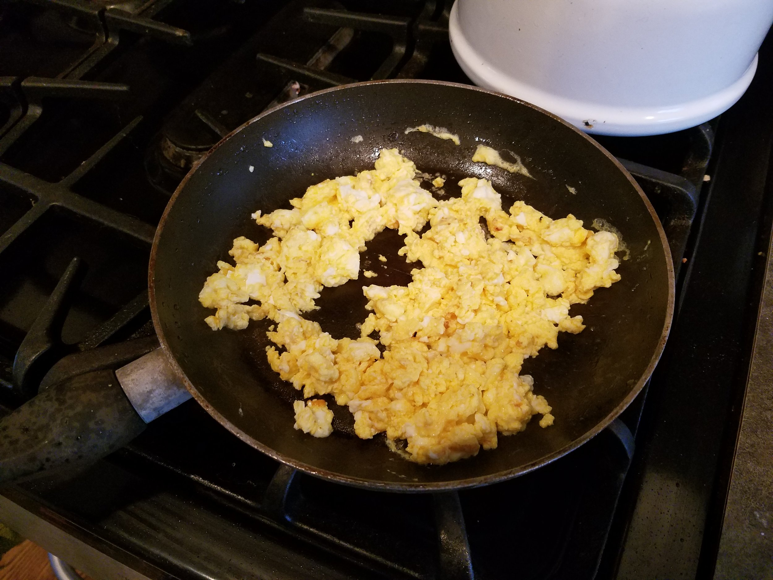 Add eggs to almost anything