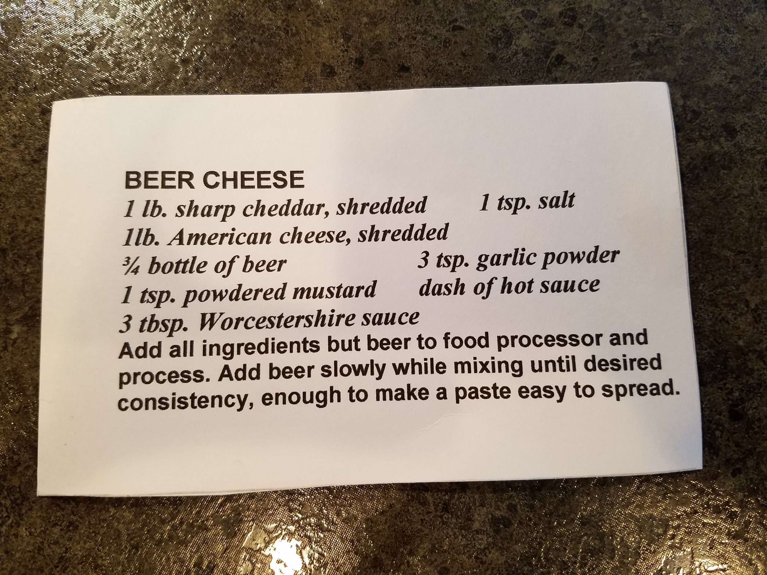 Dad's OG Beer Cheese