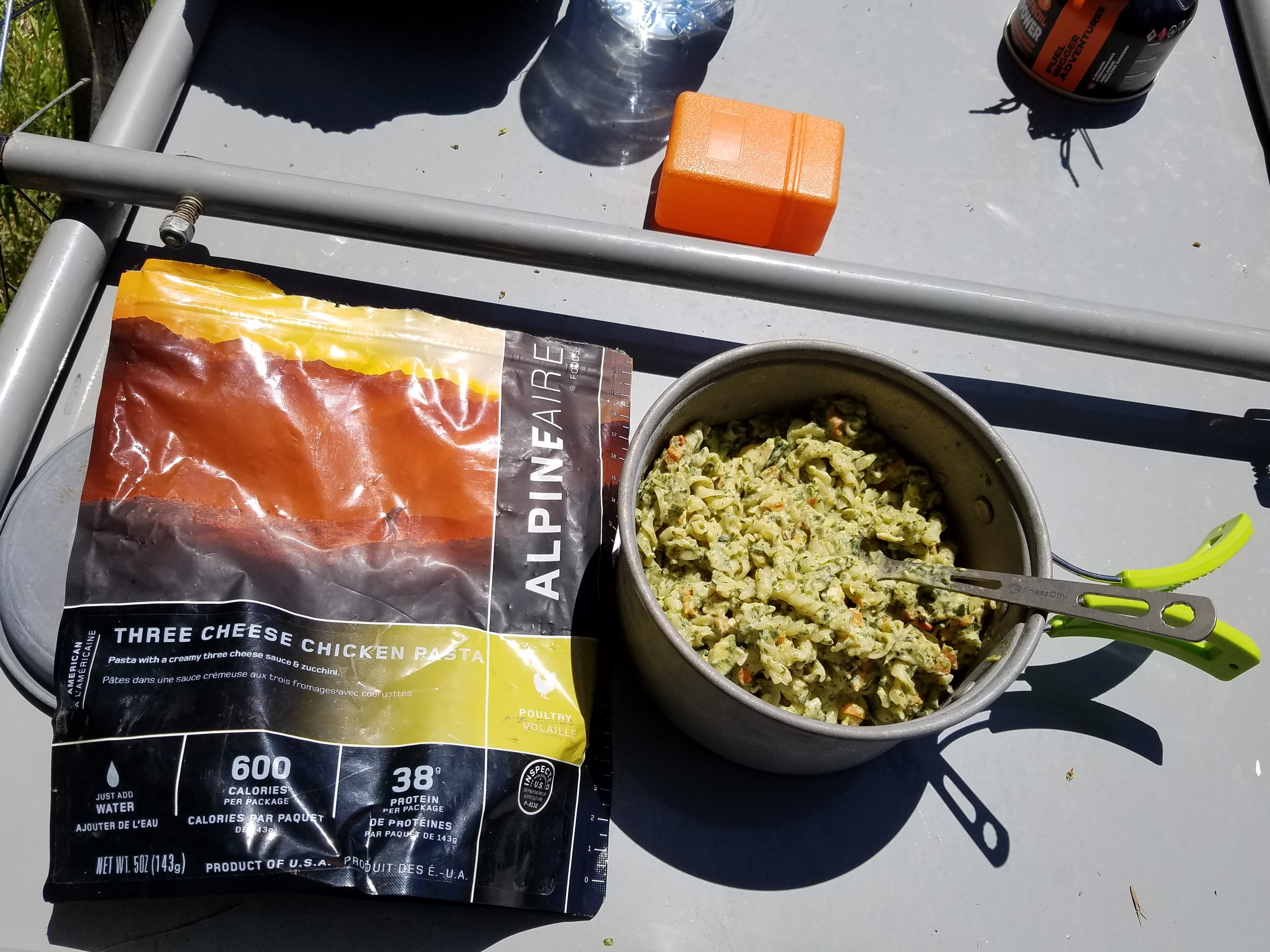 Zucchini and some other stuff pasta