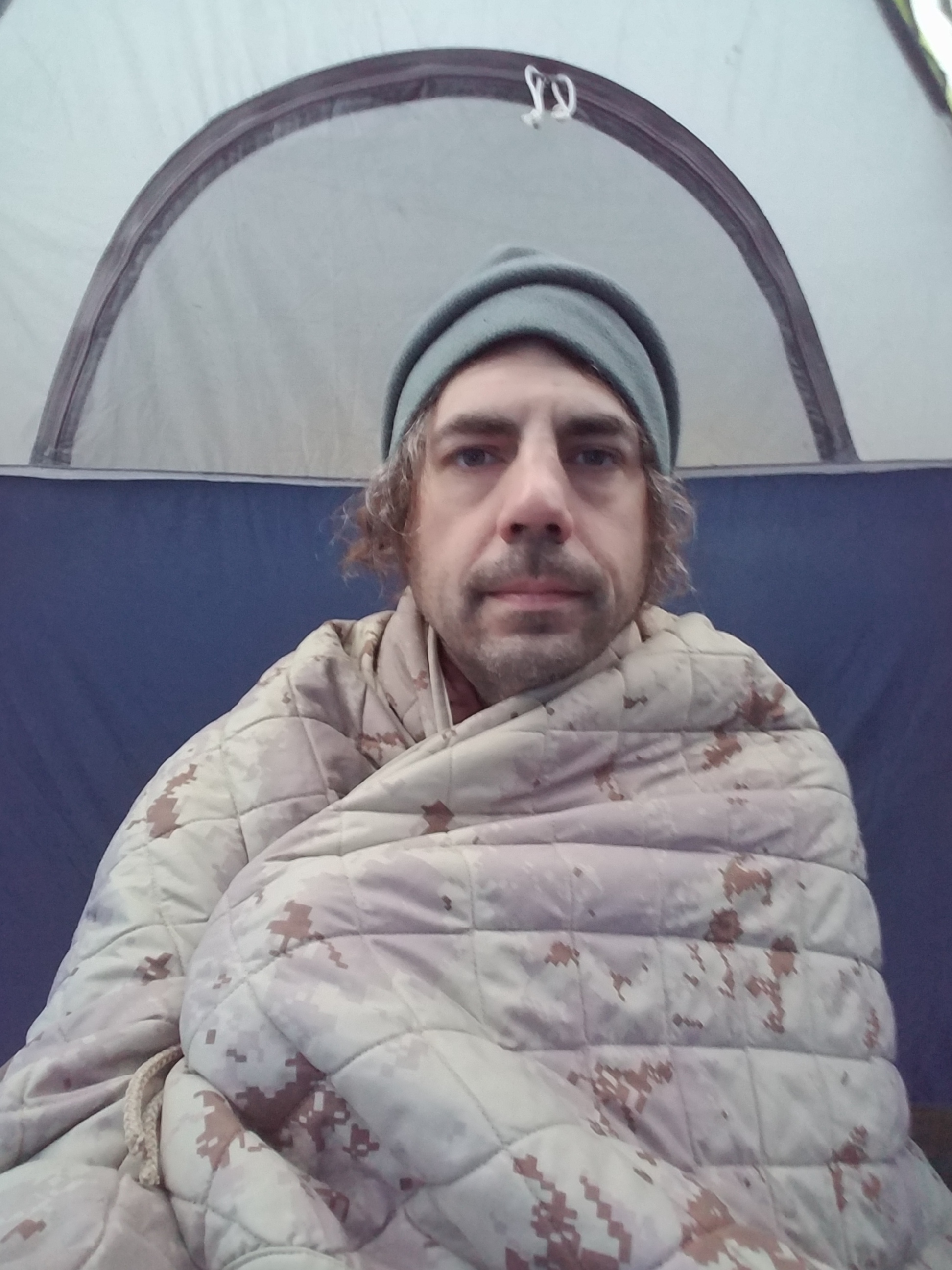 So Cold - according to the interwebs I look like Dax Shepard.