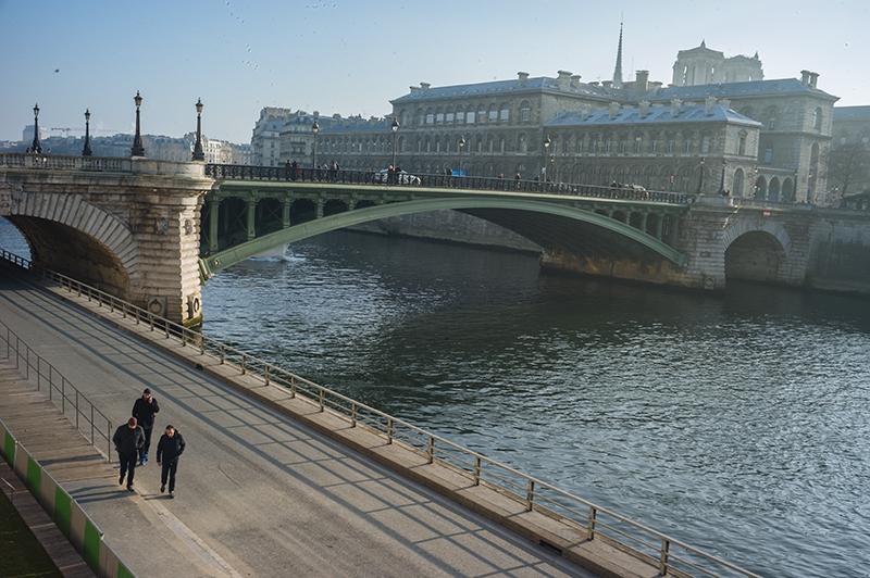 The River Seine, Paris