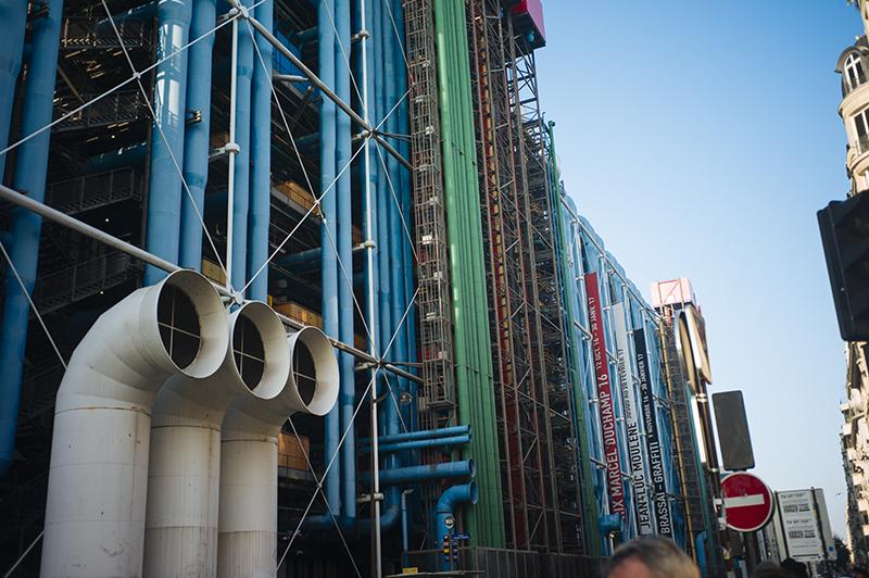 Le Centre Pompidou, Paris, 2016
