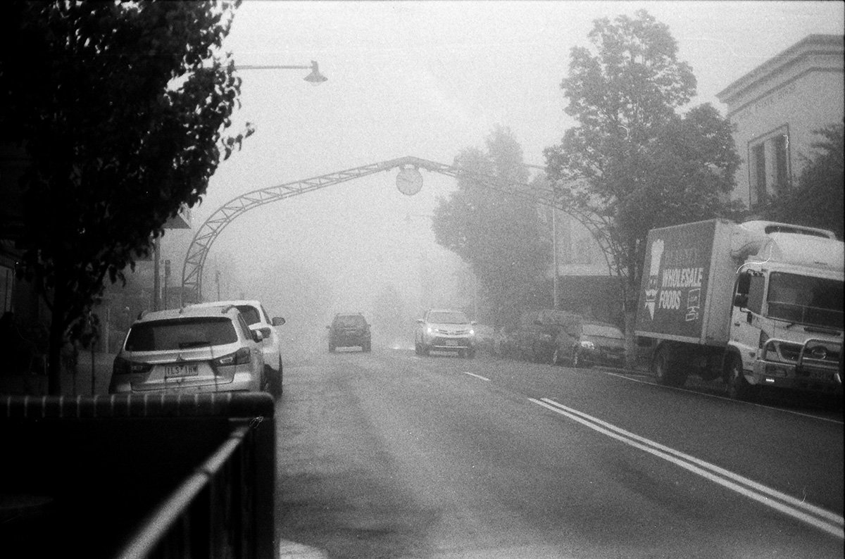 Katoomba, NSW, Morning Fog