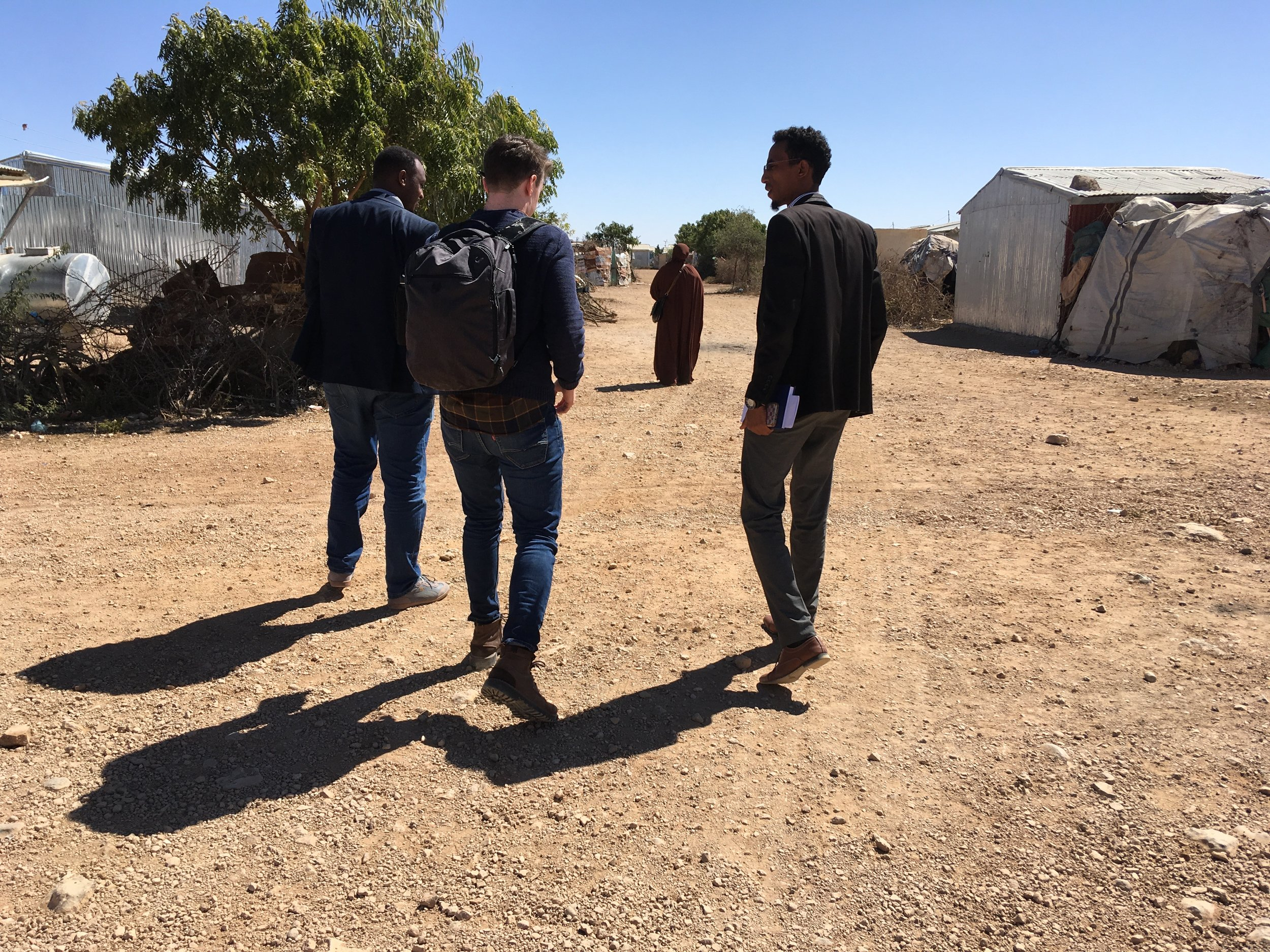 Project 'Breaking the 4th Wall of Climate Migration' - Somaliland, January 2019