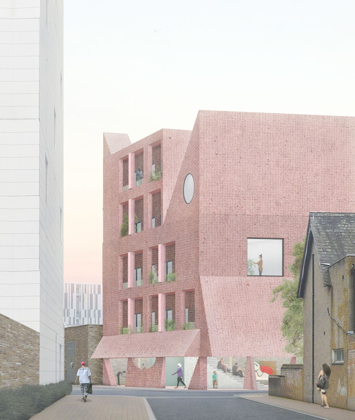 Apparata Architects—House For Artists, East London
