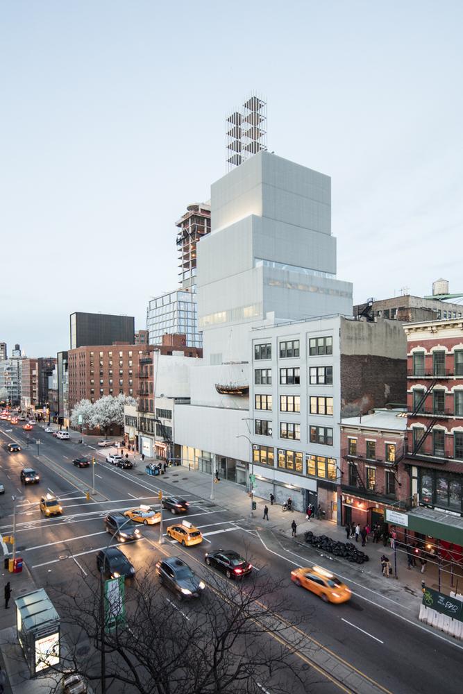 SANAA's New Museum, New York. Photo: Laurian Ghintoiu.
