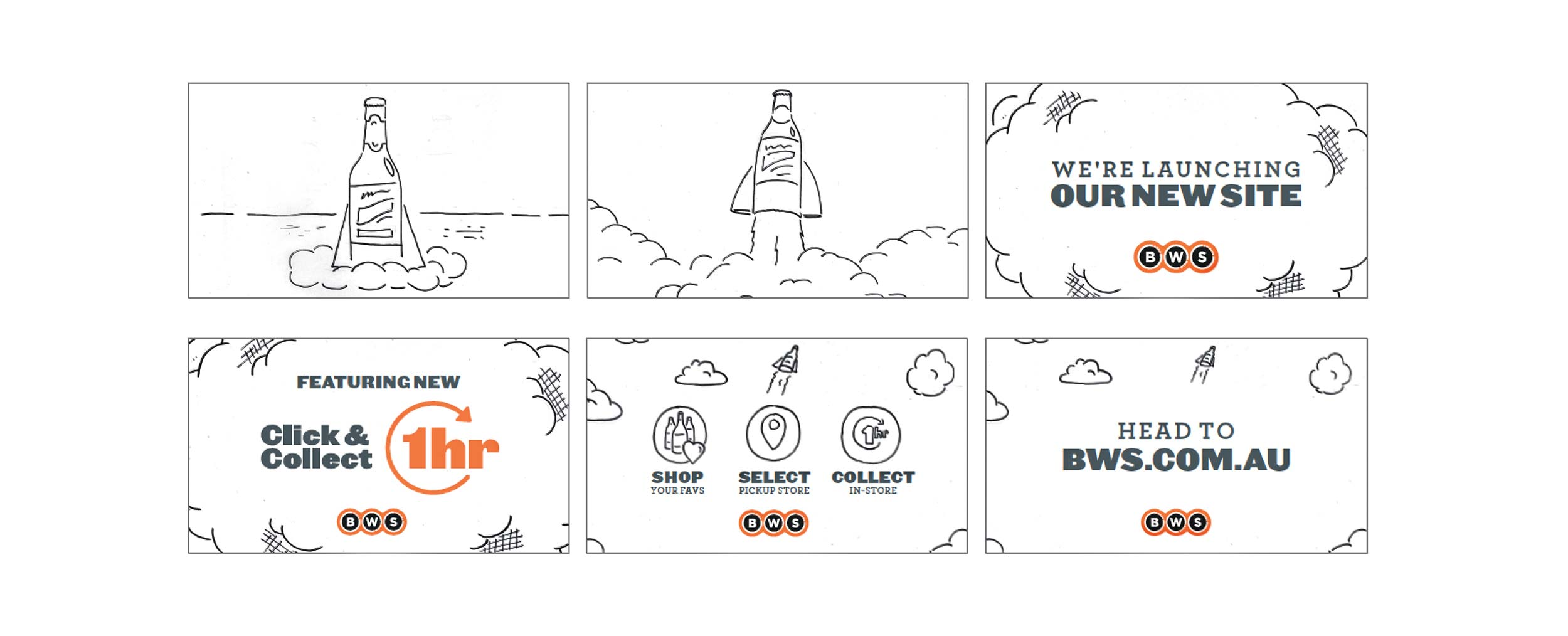 BWS  'Click & Collect' Storyboard
