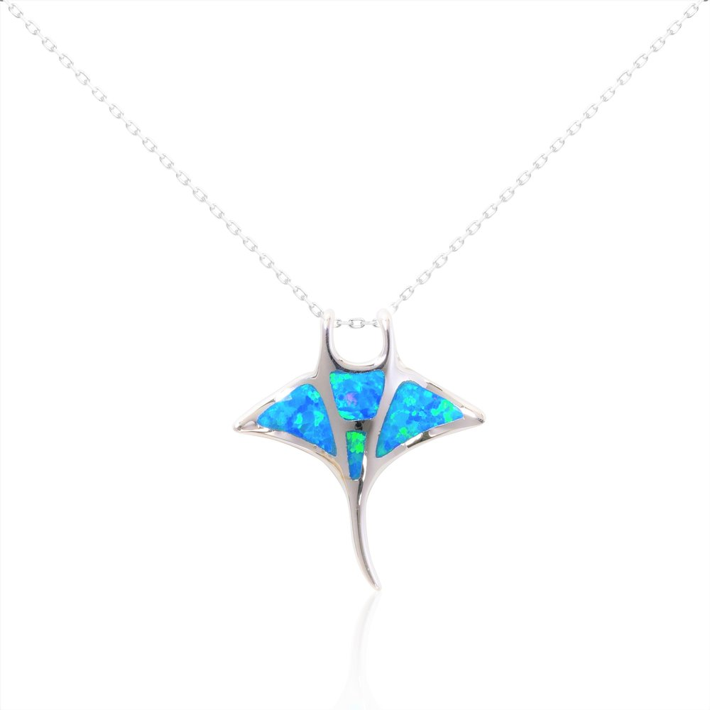 Wooden stingray Stingray necklace Stingray pendant Stingray gifts