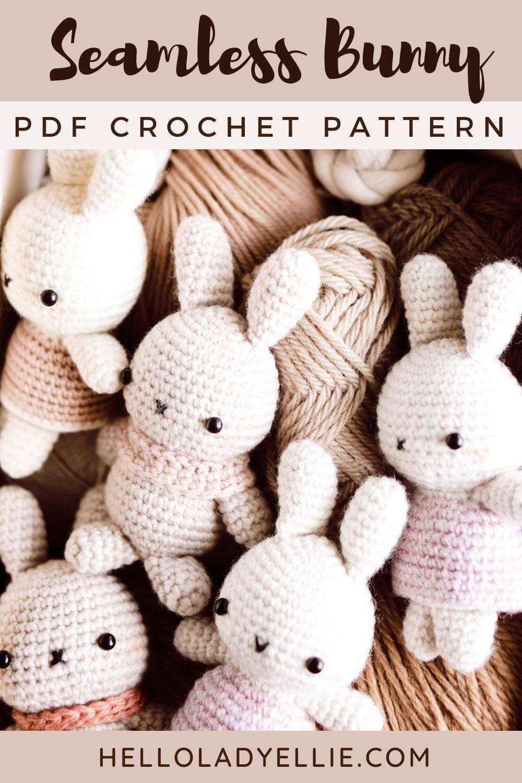 Cute bunny amigurumi pattern - Amigurumi Today - Amigurumi Crochet ... | 1500x1000