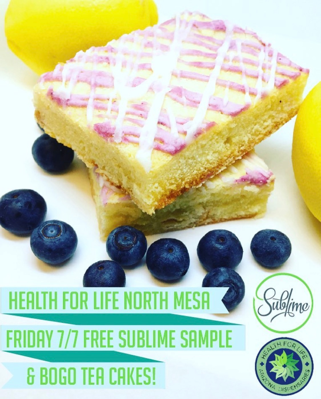 Sublime @ H4L North - Come meet the makers of your favorite edibles on July 7th!!