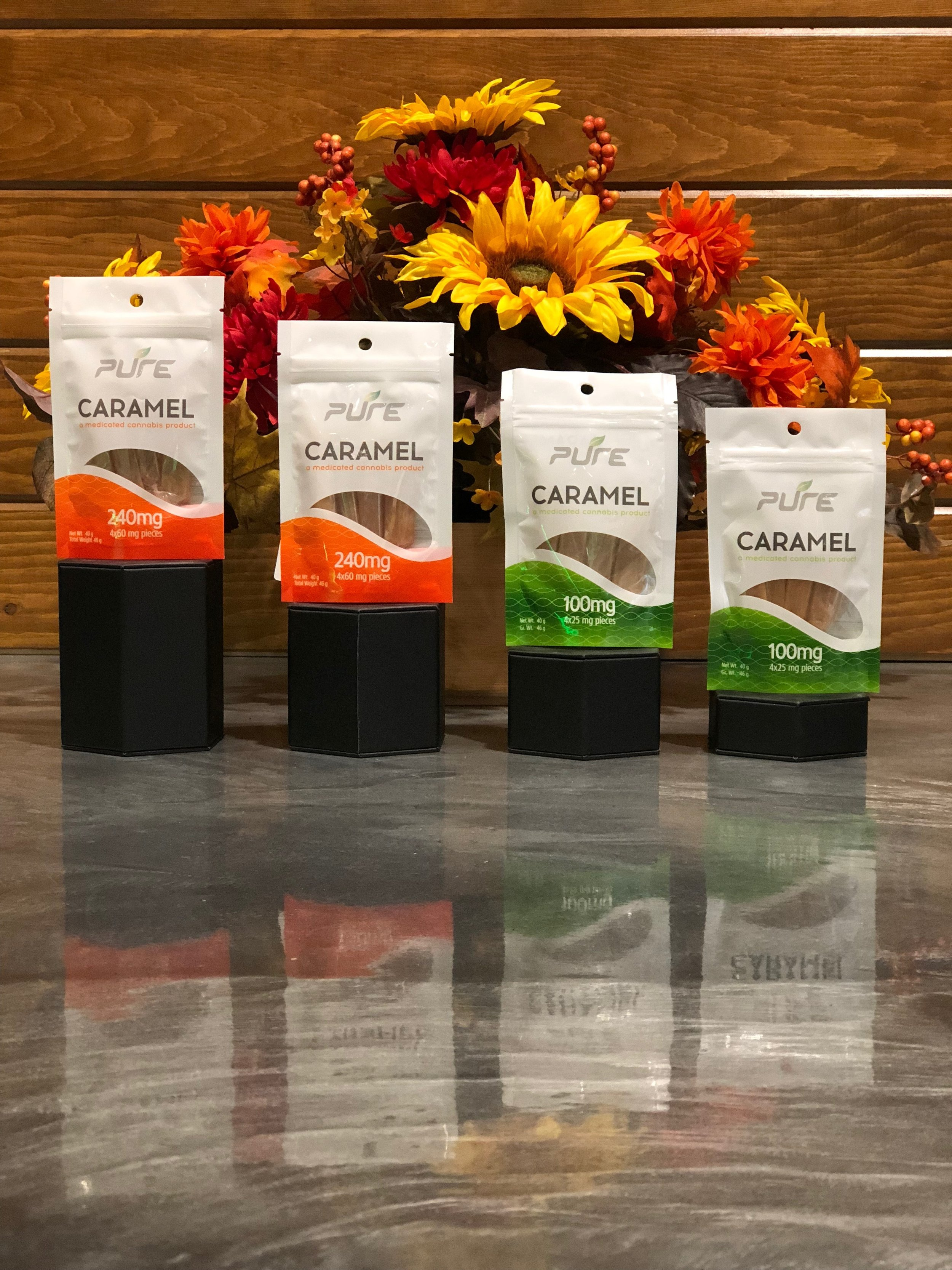 PURE Edibles BOGO - Buy One Get One Free!!No limit, equal or lesser value, no further discounts apply.