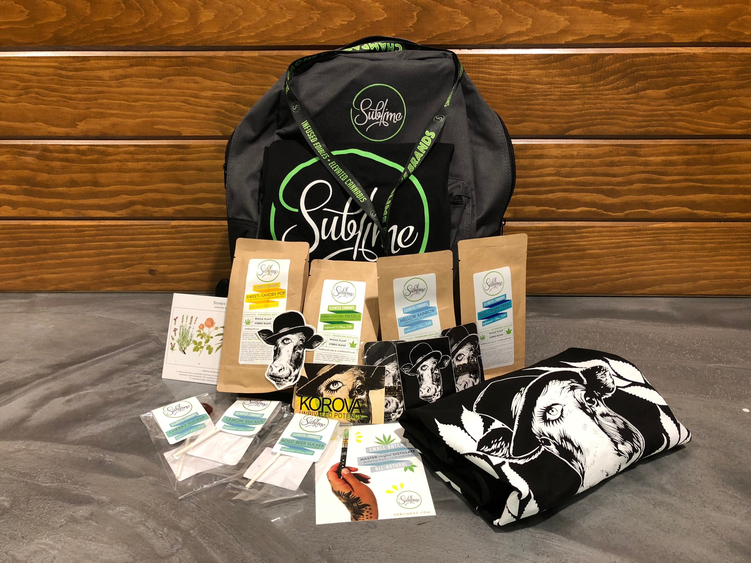 Sublime Edibles Raffle Giveaway - Enter for chance to win this epic giveaway pictured!!