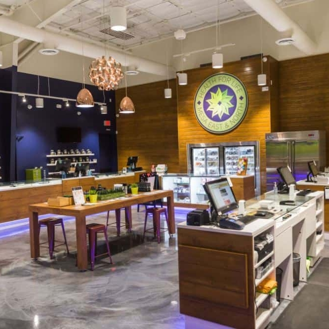 Health For Life Dispensary - North Location in Mesa, Arizona. Owned by Beth Stavola