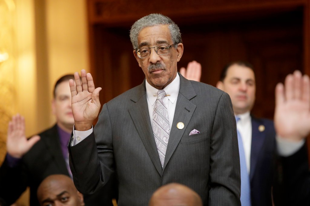 State Senator Ronald L. Rice, a Democrat from Newark, believes efforts to legalize recreational use of Marijuana would enrich white entrepreneurs while creating problems in African-American neighborhoods (.jpeg source: Julio Cortez/Associated Press)