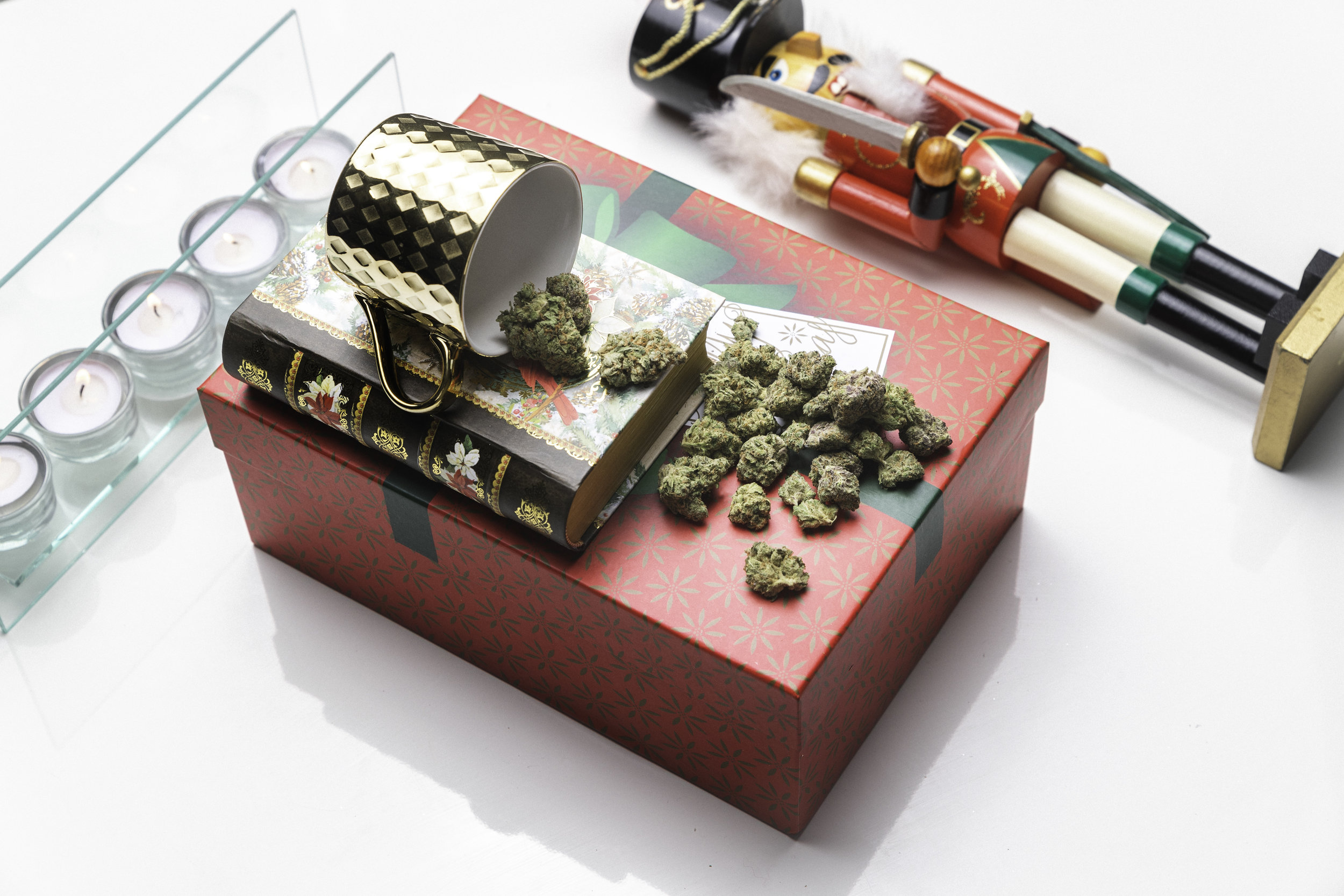 on the eighth day of Christmas Health For Life Arizona dispensaries entered me into an ounce giveaway