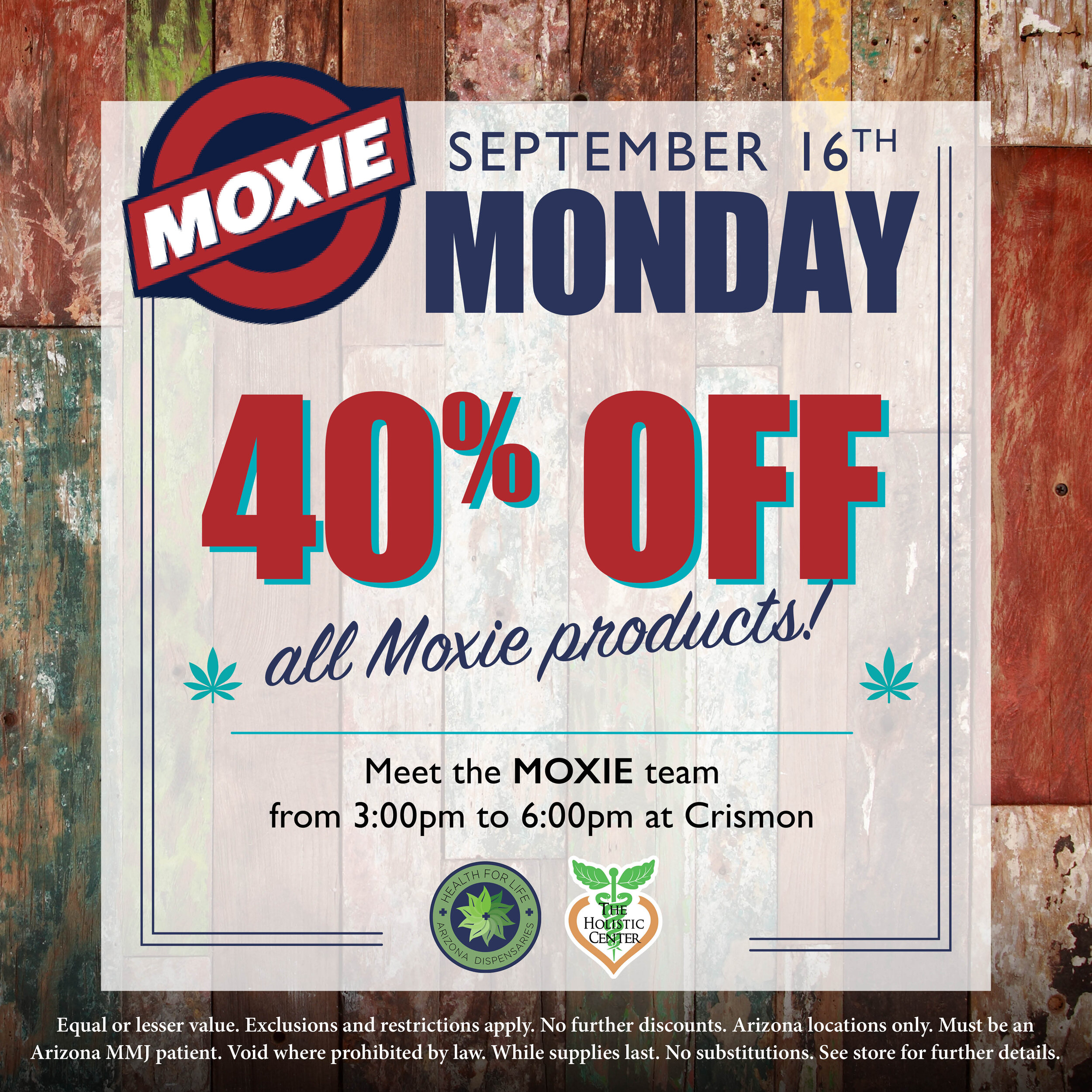 Save on Moxie!
