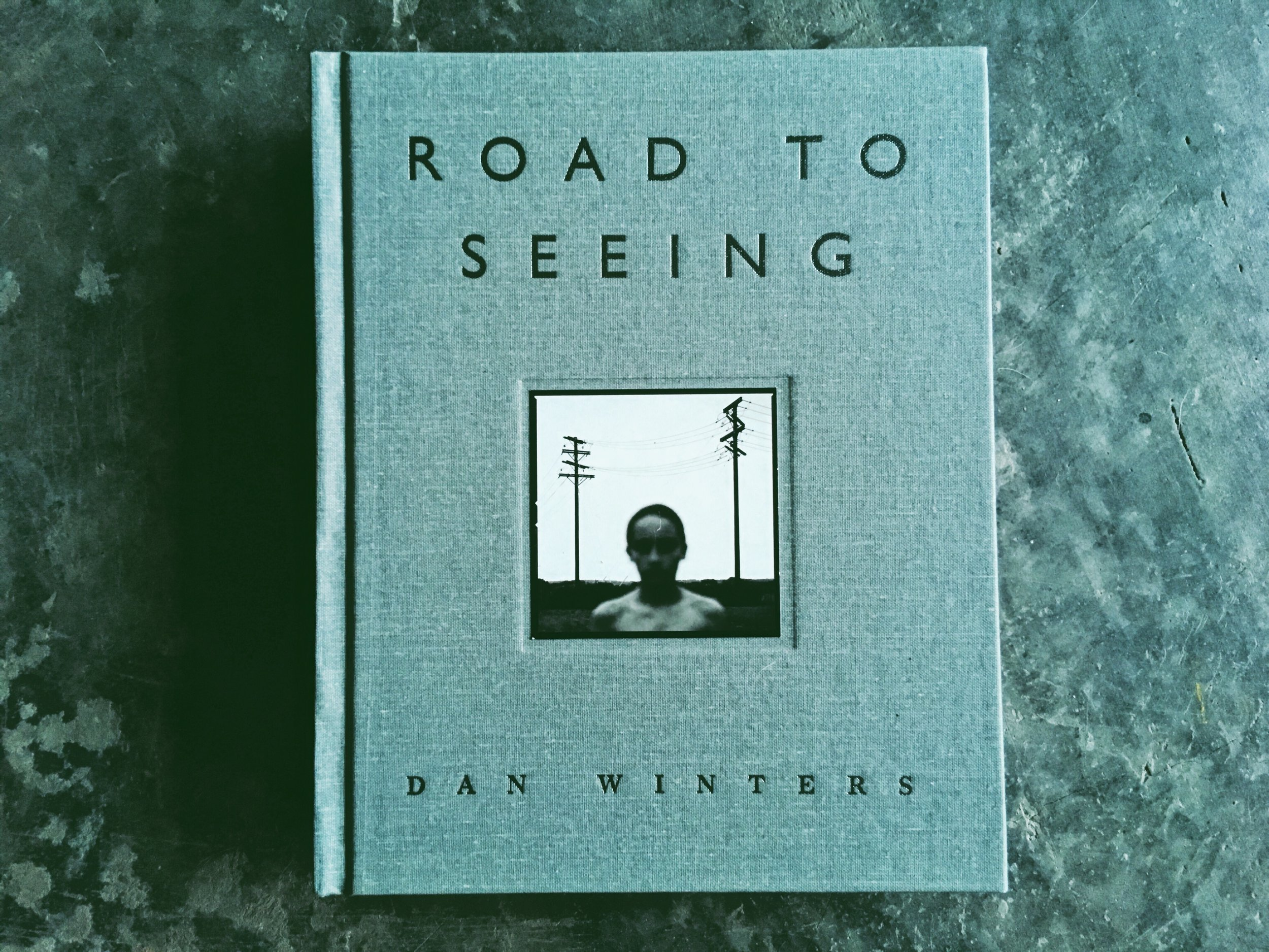 """An image of Dan Winters book """"Road To Seeing"""""""