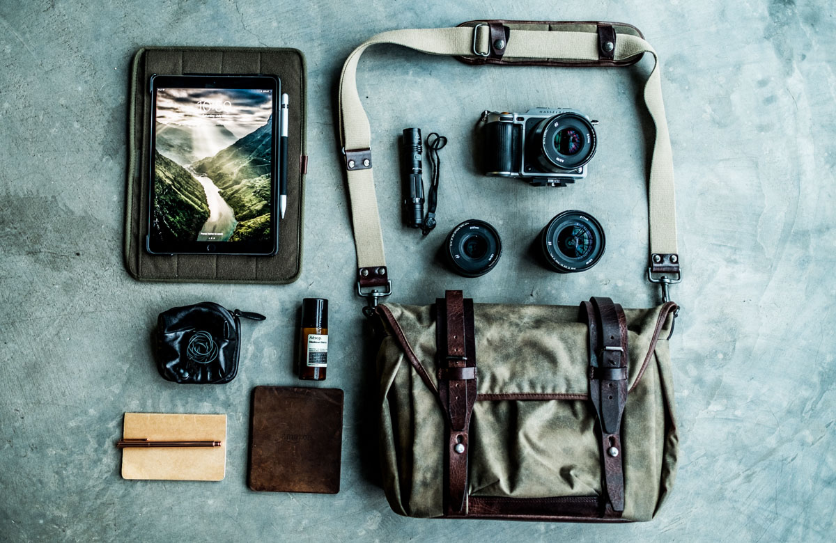 An image of the wotancraft trooper series camera bag