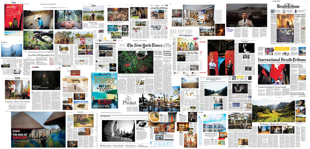 A collection of my editorial tearsheets.
