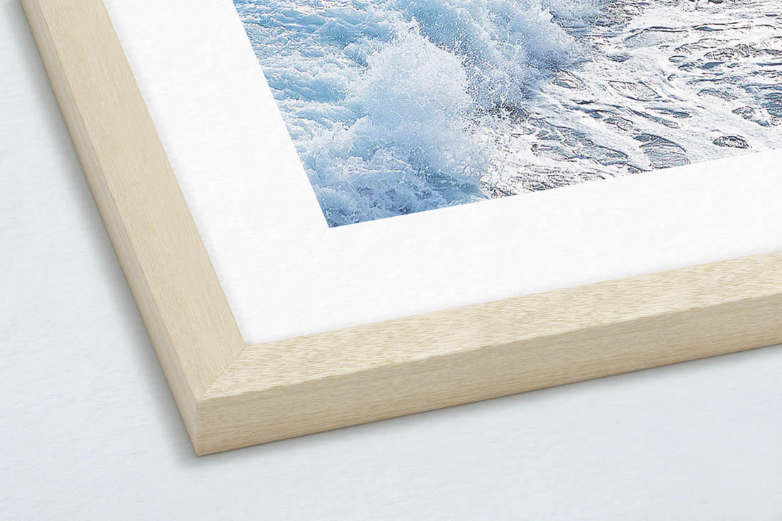 PREMIUM ARCHIVAL TEXTURED PAPER - This gives it the look and feel of a traditional photograph.