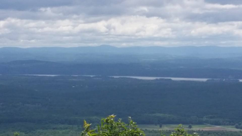 view of the hudson valley from our trails