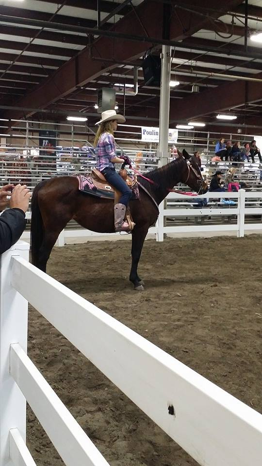 equine affaire, MA. pole bending clinic
