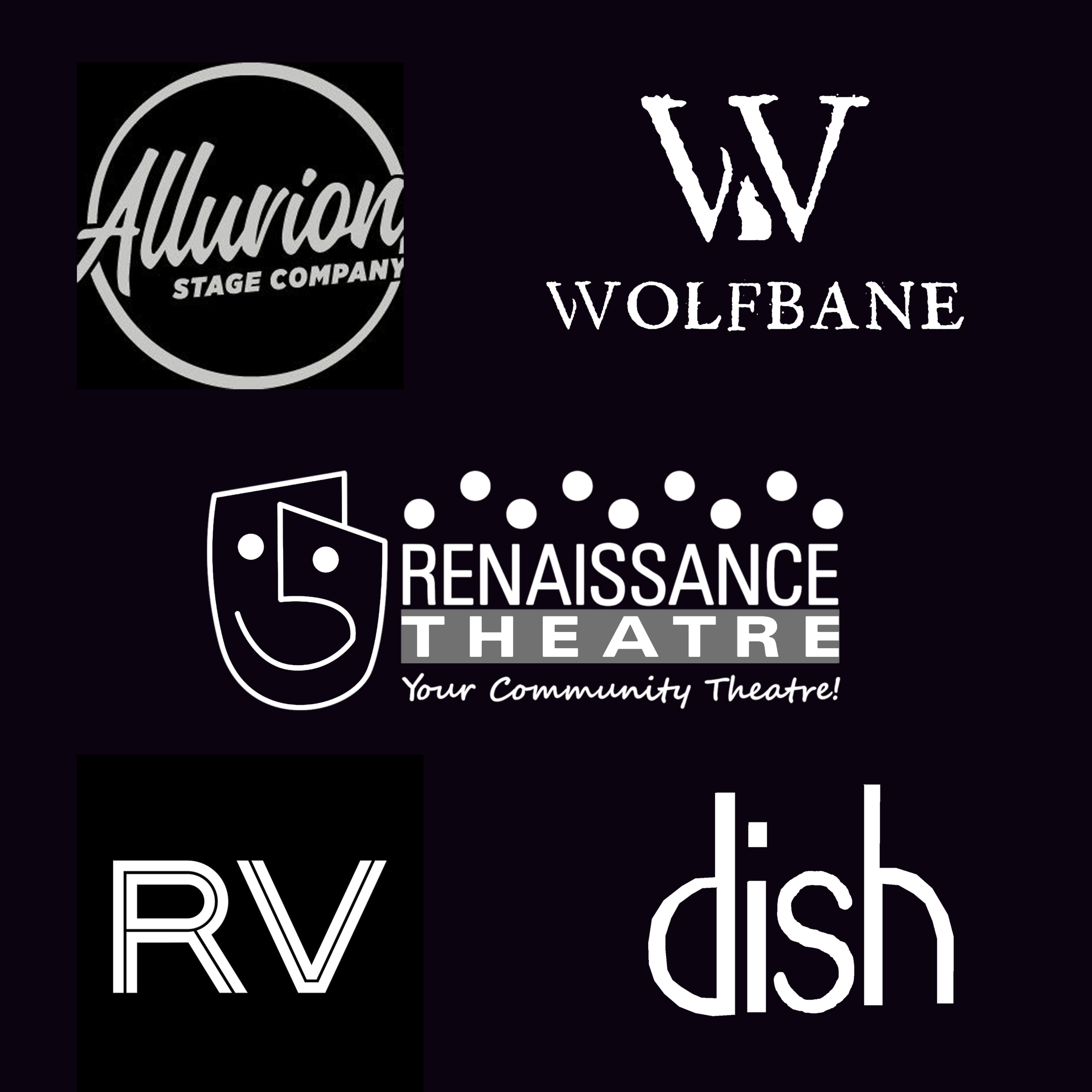 """""""Dinner and a Show"""" - Two (2) tickets to any Renaissance Theatre performanceTwo (2) tickets to any Alluvion Stage Company performanceTwo (2) tickets to opening night performance of Wolfbane's """"Cabaret""""Dish gift card $50.00Rendez-Vous gift card $50.00"""