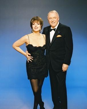 Liza Minnelli and Frank Sinatra