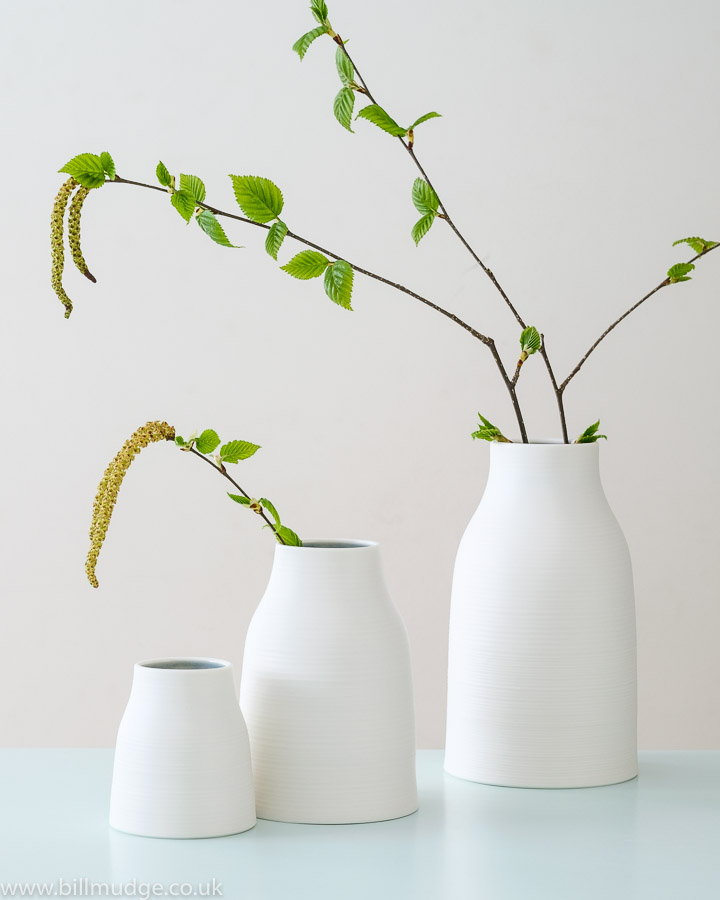 Beautiful photo by Bill Mudge of 3 different McQueens vases