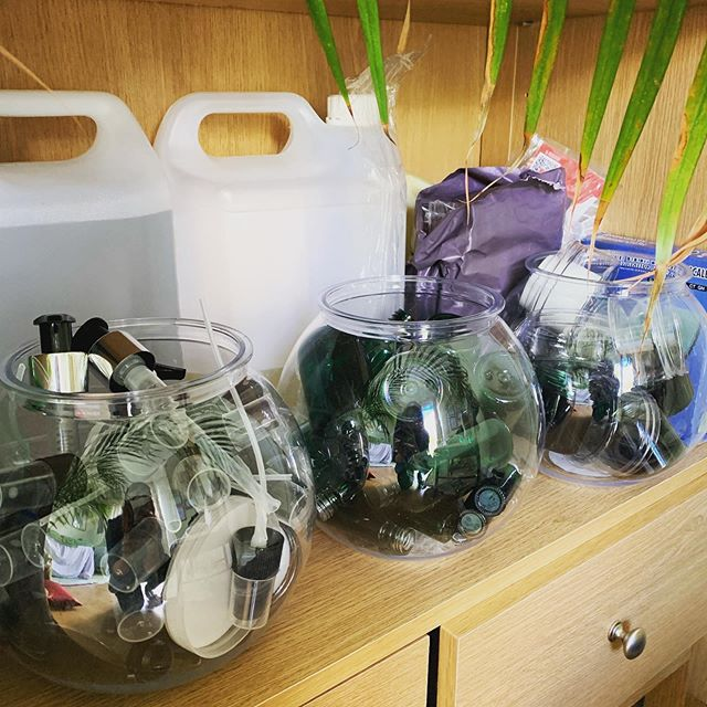Taking some time to organise my containers. I try to recycle used bottles when I can so there are lots shapes and sizes I've collected over the years. My blends will be stored in well loved containers. No need to chuck out once you're done. Bring them back and I'll give you a discount on your next! ♻️ 🌍 #recycle #repurposed  #reuse #containers #beautyproducts  #worthing  #worthingbusiness  #holisitic #therapist #reflexology #massage #relaxation  #therapyforthesoul #massage #aroma #aromatherapy  #vegan #crueltyfree #essentialoils