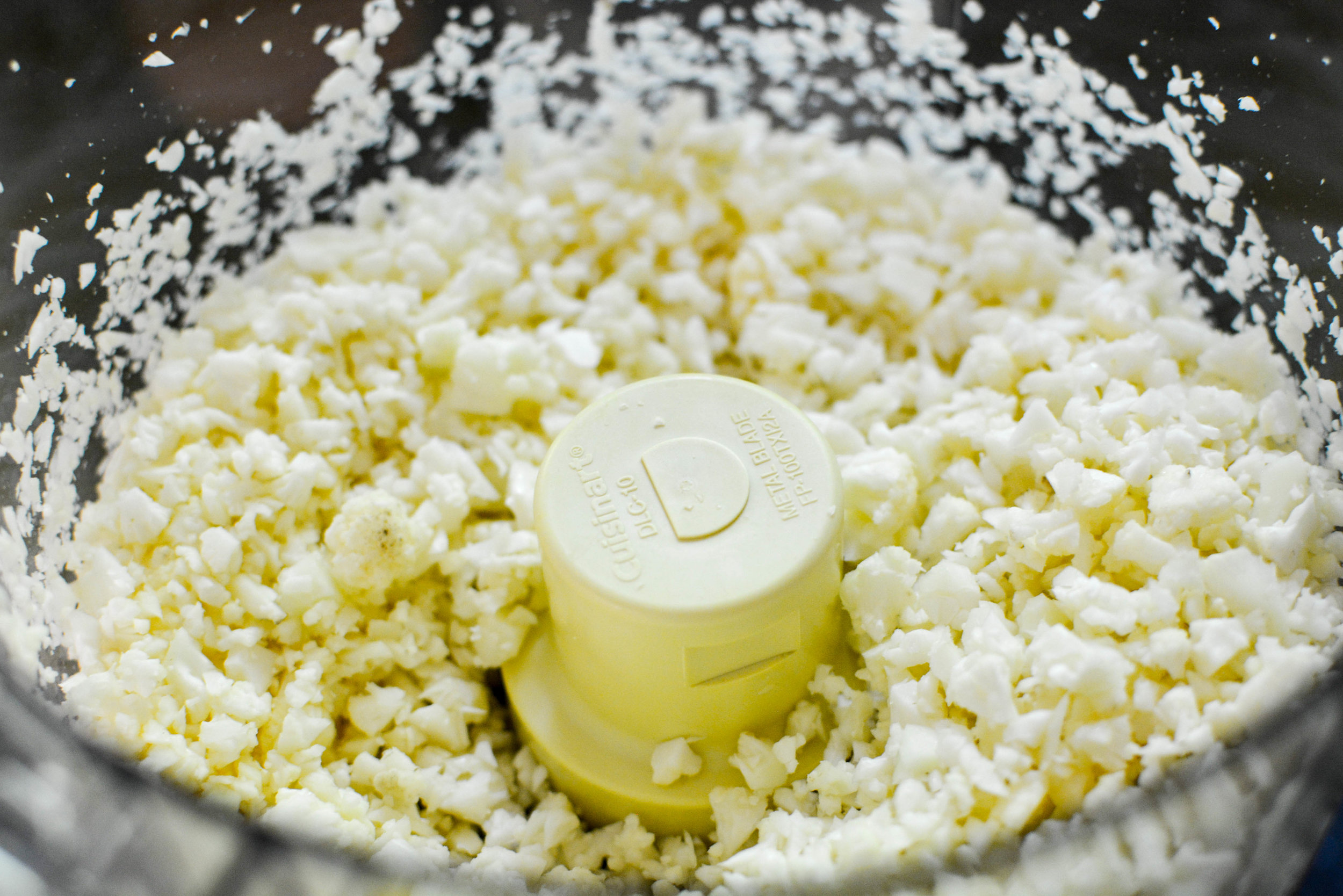 processed cauliflower
