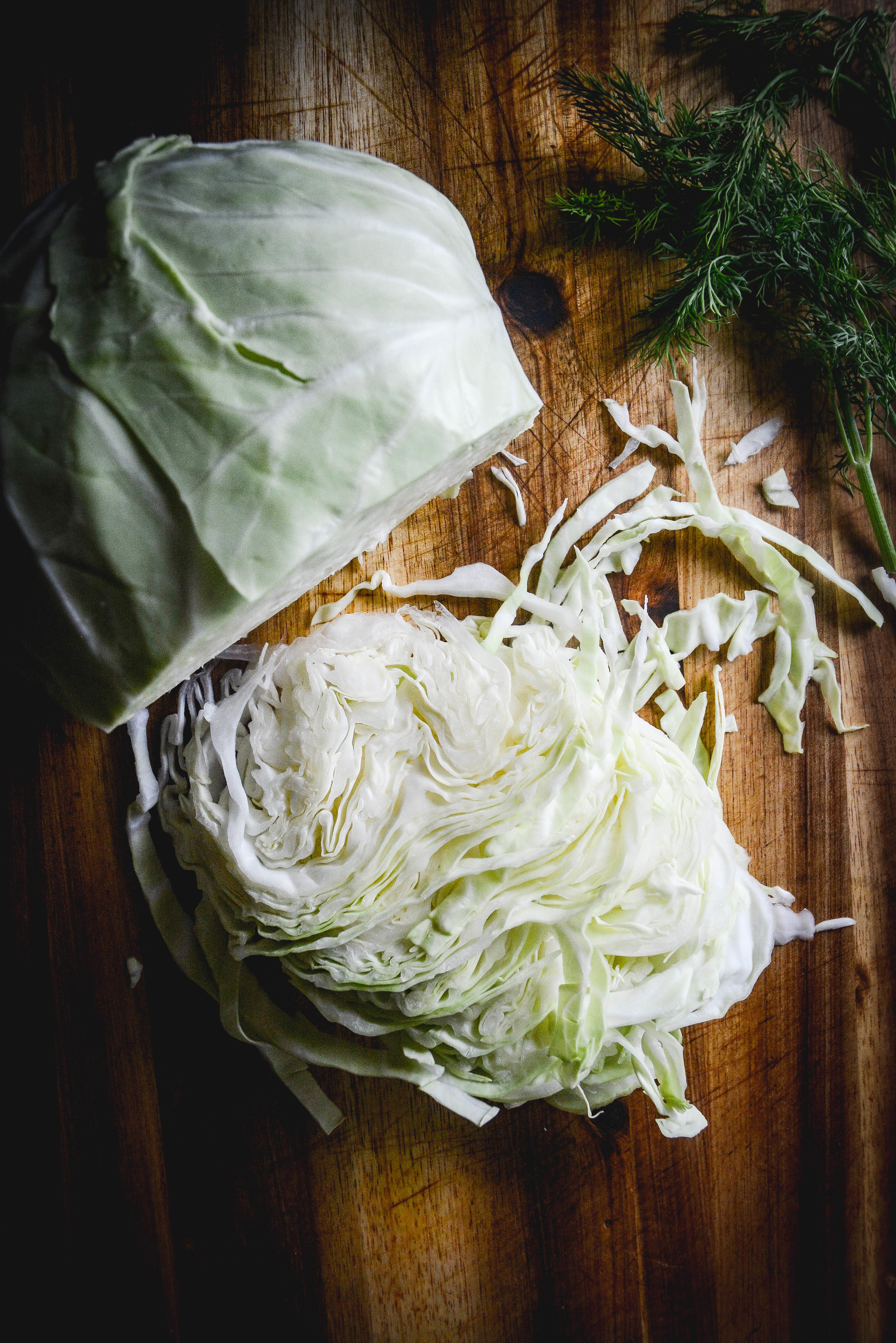 A basic recipe for making probiotic rich sauerkraut at home with just two ingredients.