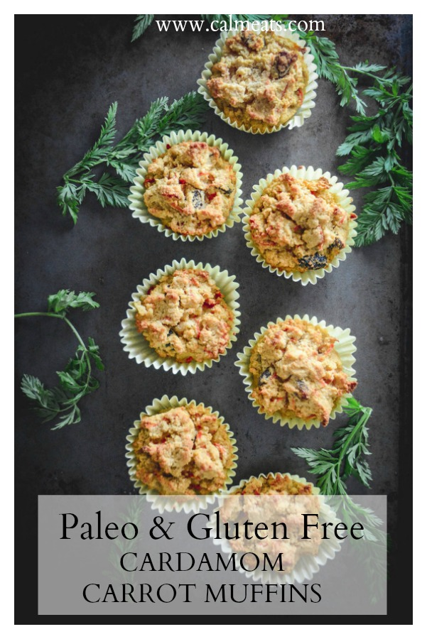 Cardamom makes everything better and these decision muffins are no exception. Get a mouthful of flavor with no gluten or dairy. These cardamom muffins re a perfect breakfast or treat any time of the day. #muffins @calmeats #cardamommuffins #paleobreakfast #paloerecipes #glutenfreebreakfast #glutenfree #glutenfreebakin