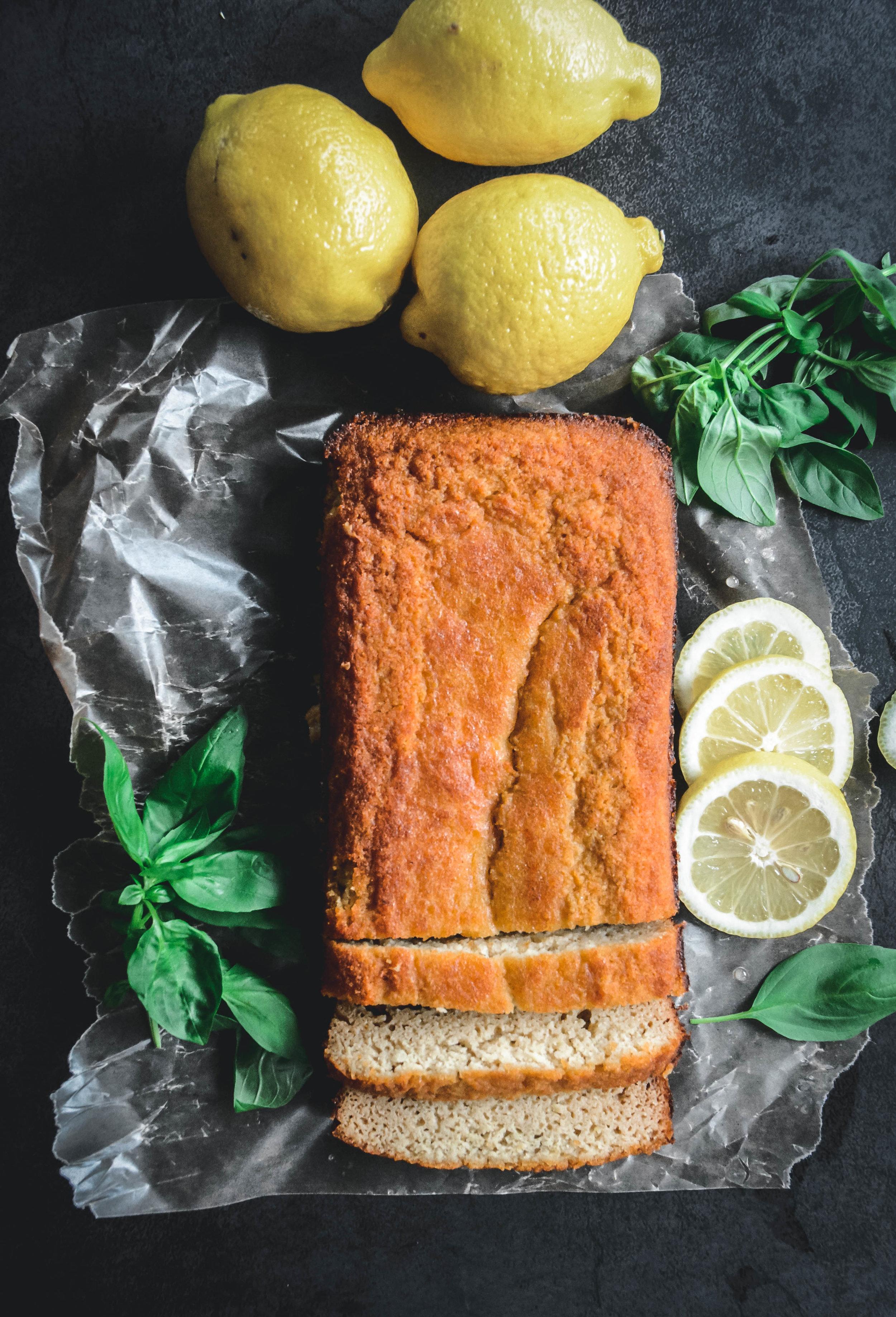 glazed lemon loaf cake