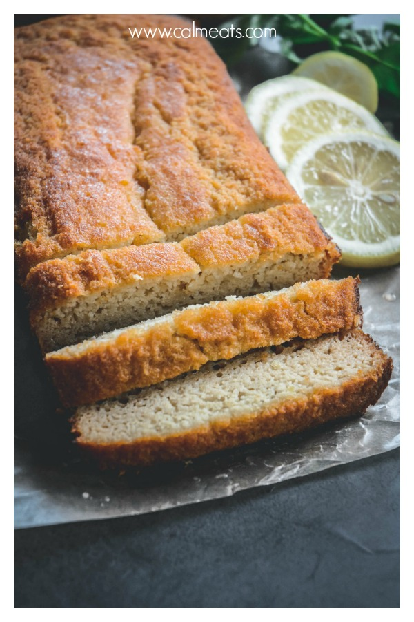 If you want to make over your breakfast or dessert, try this delicious, lemony glazed lemon loaf cake from @staceyisaacs. It's paleo, vegetarian, gluten free and dairy free. #glutenfree #dairyfree #paleocake #paleoloafcake #lemonloafcake #vegetarian #paleodessert #dessert