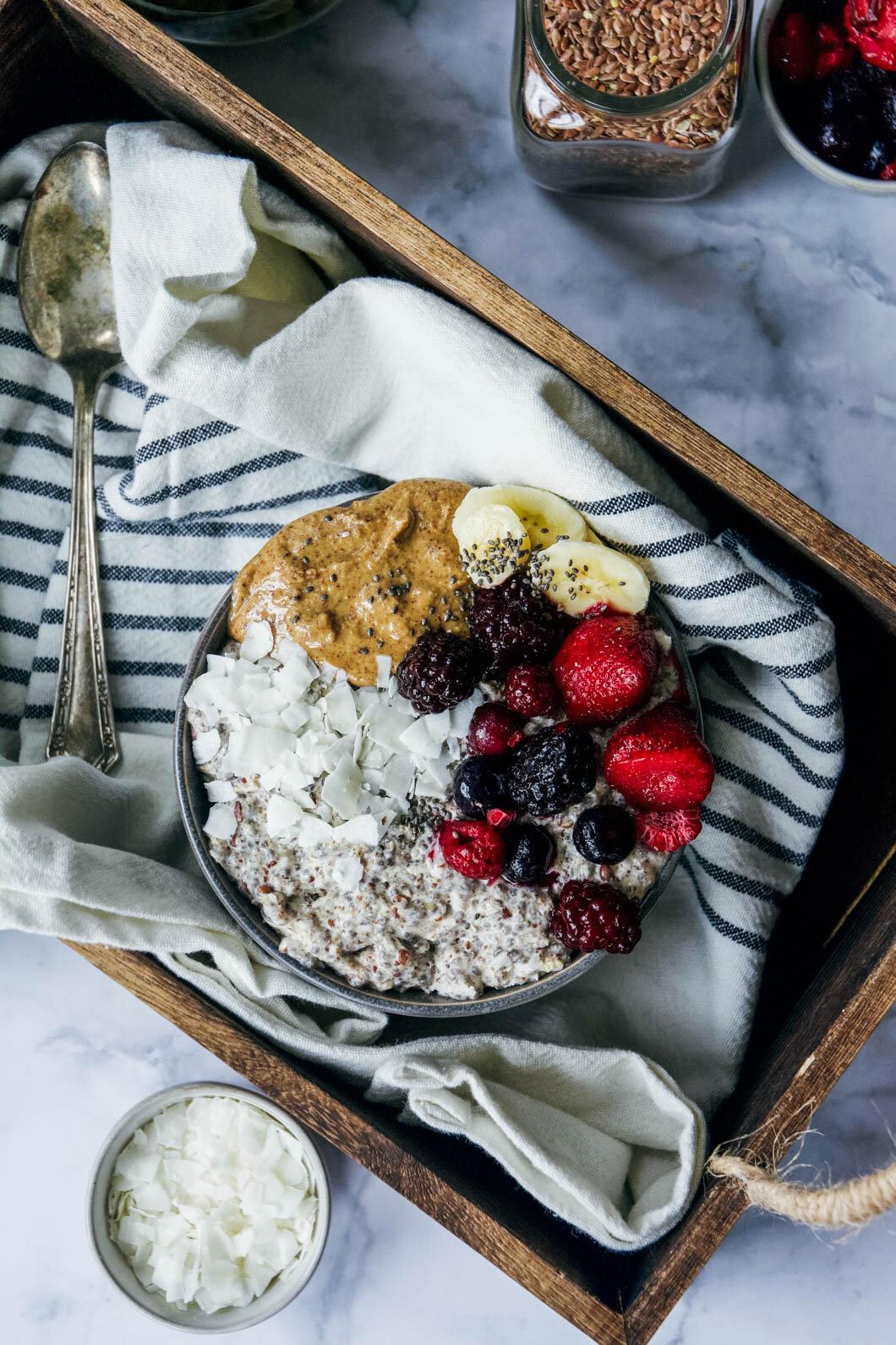 Overnight paleo oatmeal