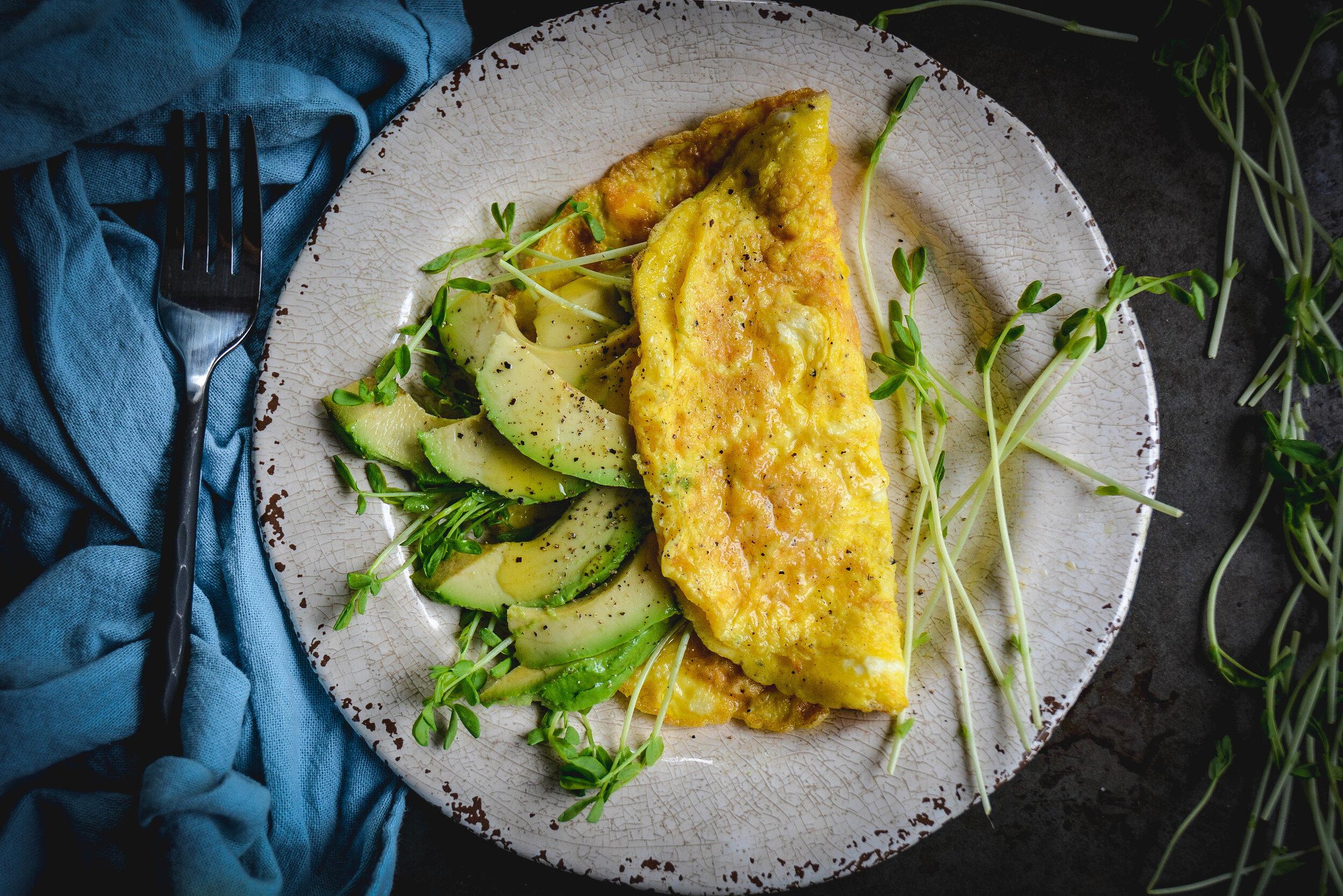 3 ingredient omelette
