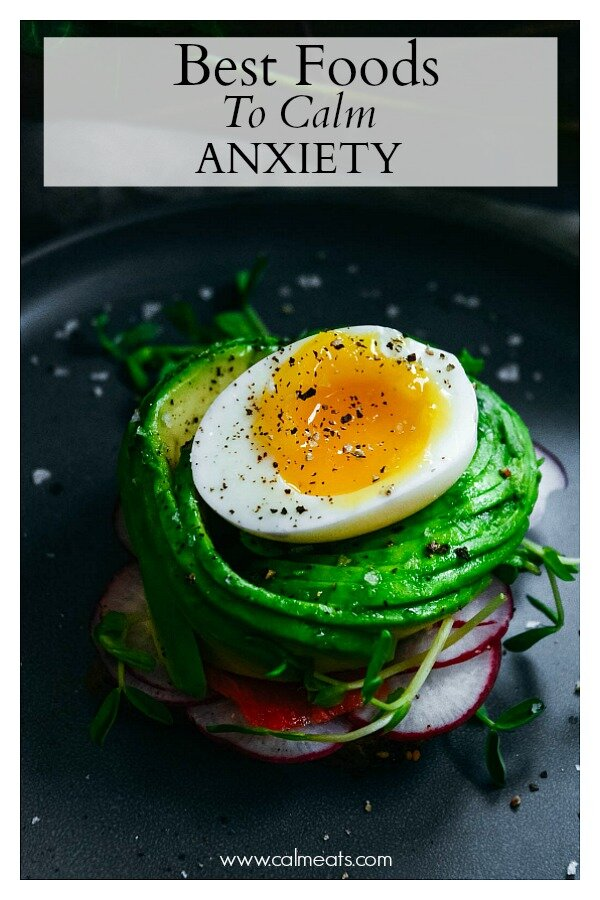 If you don't believe the food we put in our bodies has an impact on our mental health, check out this post which covers why nutrition plays an important role in managing anxiety symptoms. #anxiety, #calmeats, #nutrition, #diet, #whole30, #paleo, #glutenfree, #dairyfree, #mentalhealth, #food, #diet, #calm #anxietyloweringfoods #guthealth #foodsforloweringanxiety