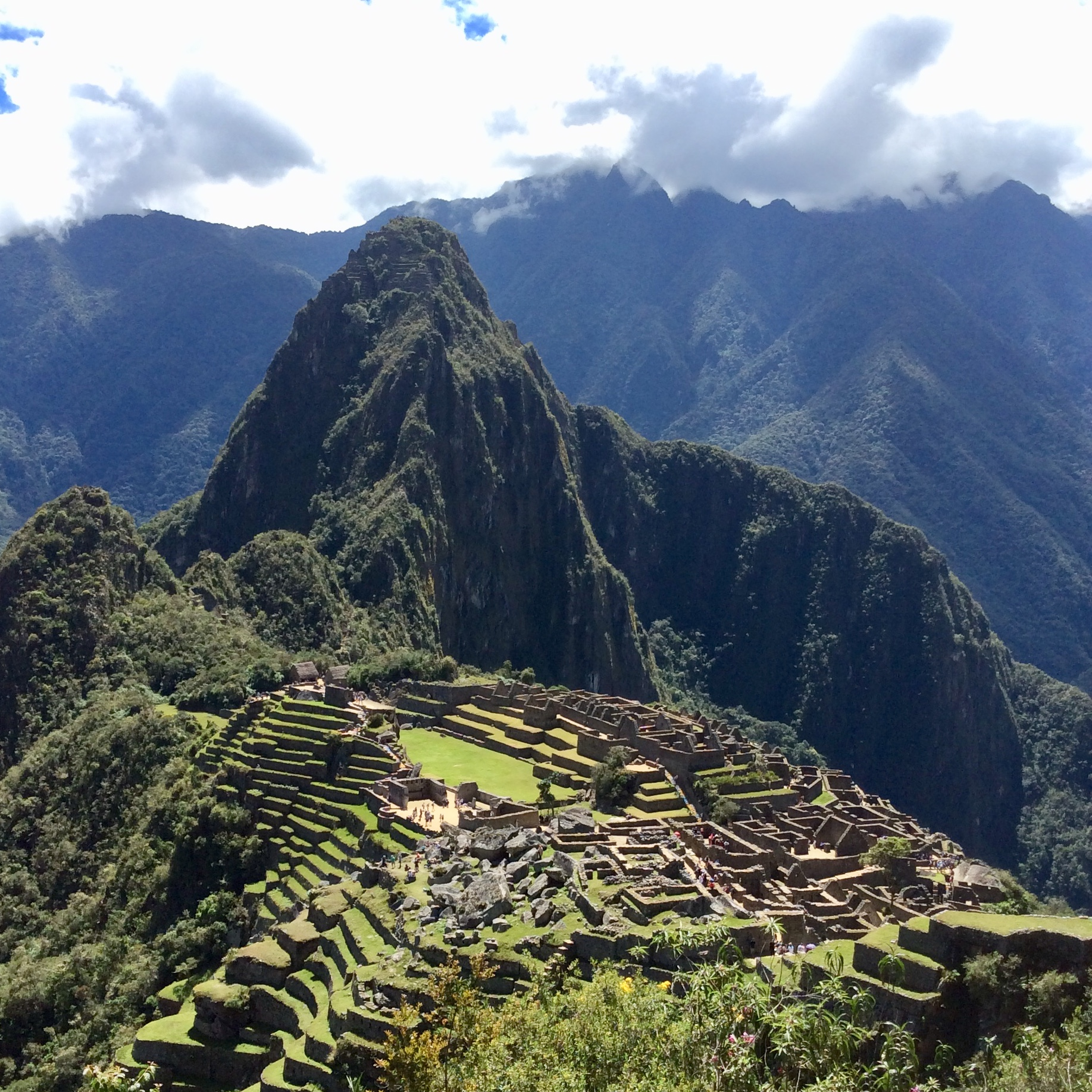 """The World-Famous Macchu Picchu. A UNESCO World Heritage Site.   High in the Andes of Peru, Machu Picchu is the site of an ancient Inca city. One of the most familiar symbols of the Incan empire, and often referred to as """"The Lost City of the Incas""""; it is also well-established as one of the most famous and spectacular sites of ruins in the world. A visit to Peru would not be complete without seeing it!"""