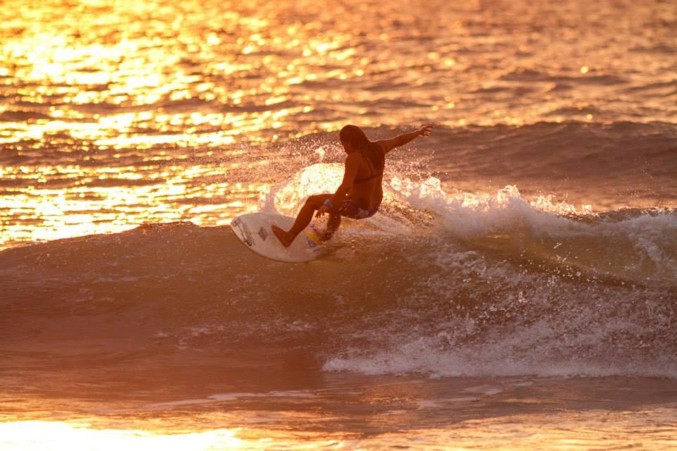 Sunset sesh. Photo by Allen Aligam.