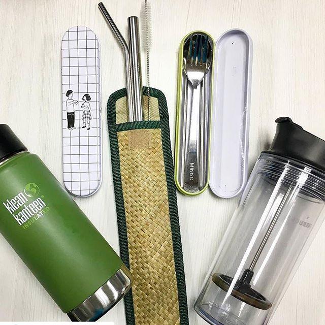 An ideal zero waste kit. Photo by Joy Rodriguez