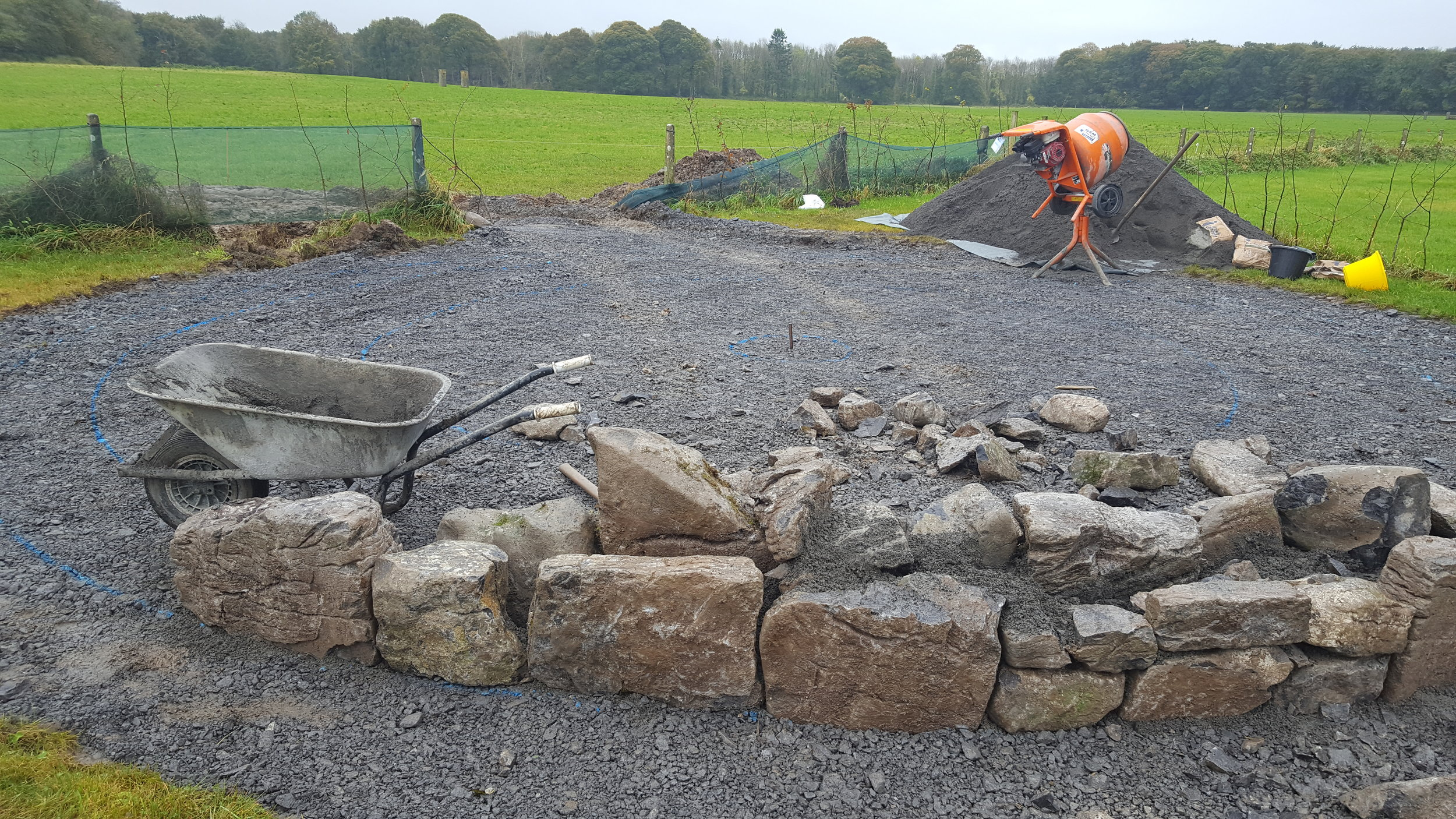 Complete design and construction of SCULL Sanctuary Sensory Garden, Clarinbridge. Galway.