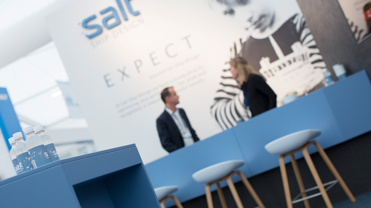 "ONS at its best! - ""This is a great way to meet with our customers, learn about their idea and to discuss Salt's approach to ship design and our capabilities."" Margareth Urheim Gram - Naval Architects at Salt"