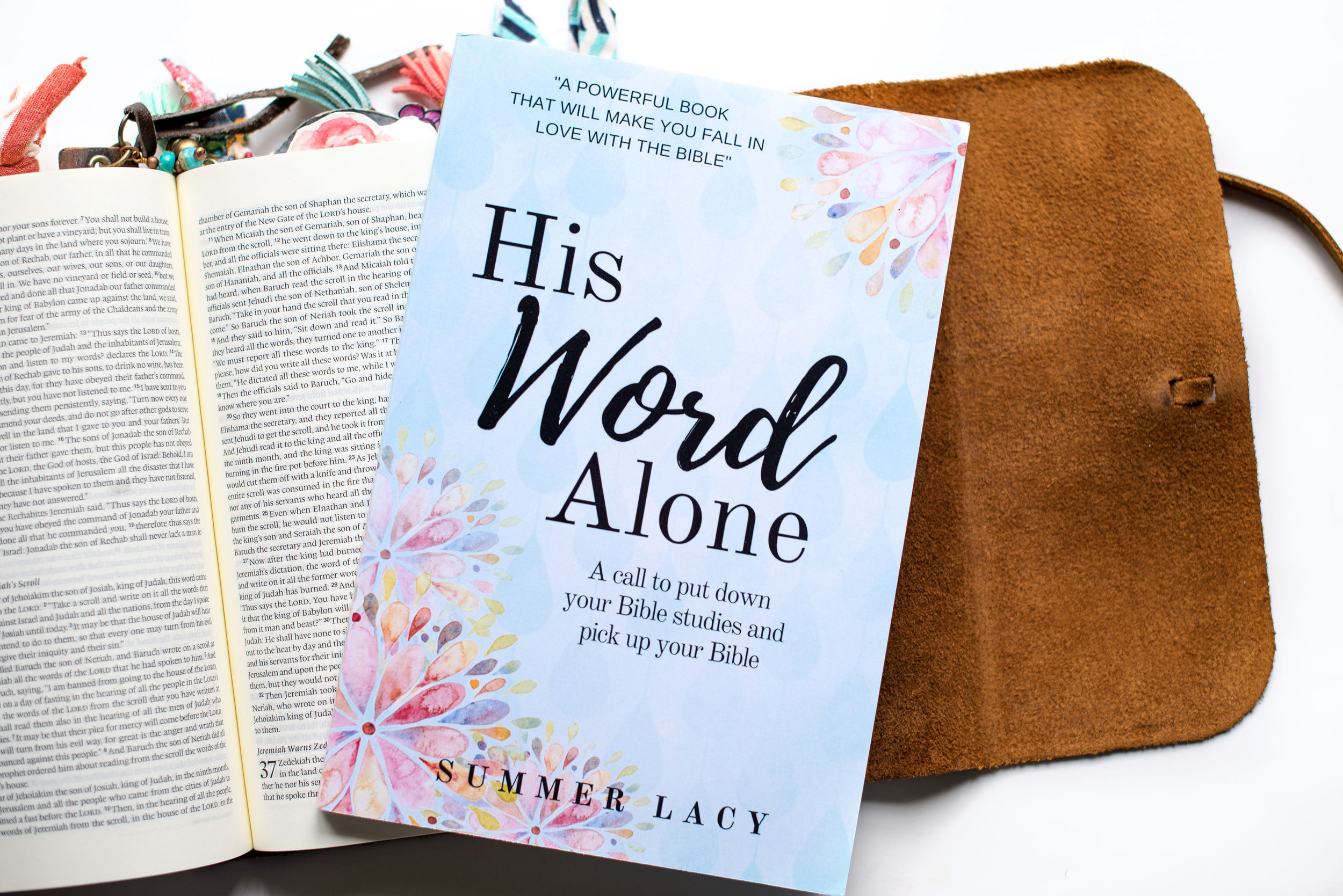 Put the Bible back into your Bible study... - The second edition of my book, His Word Alone; A call to put down your Bible studies and pick up your Bibleis now available.  Order it today!  HERE.